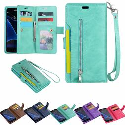 For Samsung S8/S9/S10/S20/Note20 Flip Leather Phone Case Cov
