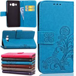 Shockproof Leather Flip Card Wallet Case Cover For Samsung G