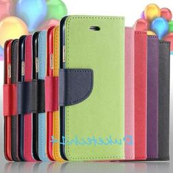 Shockproof Leather Wallet Case with Wallet Card Slots for Sa