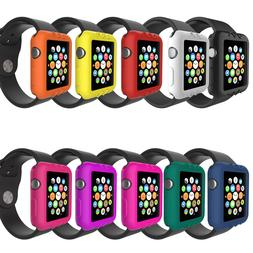 Silicone Bumper Case for Apple Watch Series 1 2 3 38mm 42mm