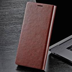 slim genuine leather wallet card case cover
