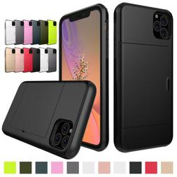 Slim Case Credit Card Holder Wallet Cover For iPhone X XS MA