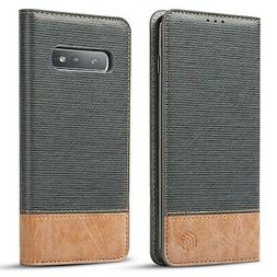 WenBelle Slim Wallet Case for Samsung Galaxy S10e, Stand ...