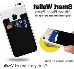 Smart Wallet Card Holder Stick-On Phone Case