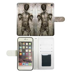 Star Wars Han Solo Flip Wallet Phone Case Cover For Iphone &