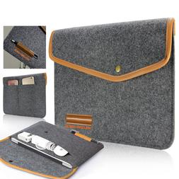 Ultrabook Sleeve Wallet Cover Case Pouch Bag For Surface Pro