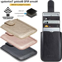 Universal Adhesive Pocket Stick On Wallet 5 Cards Holder Cas
