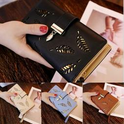 US Women Lady Clutch Leather Wallet Long Card Holder Phone C