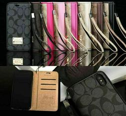 USA Leather Wallet Card Flip Case Cover For iPhon 7 8 Plus X