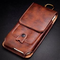 Vertical Wallet Case Cover Pouch Holster Belt Clip iPhone 12
