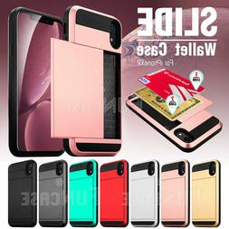 Wallet Case Credit Card ID Holder Slim Case Phone Cover for