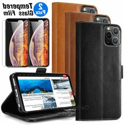 Wallet Case For Apple iPhone 11 2019 Luxury Magnetic Leather