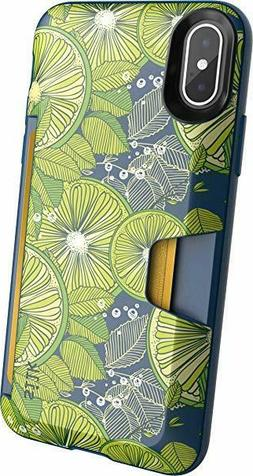 Silk Wallet Case For iPhone 10 X/XS Wallet Slayer Slim Prote