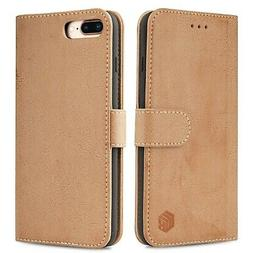 Wenbelle Wallet Case For iPhone 8 plus and iPhone 7 plus,Dur