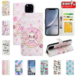 Wallet Leather Case Flip Stand Phone Case Cover For iPhone 1