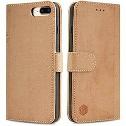 Wenbelle Wallet Case For IPhone 8 Plus And 7 Plus,Durable Sl
