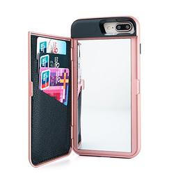 Wetben Case for iPhone 8 Plus,Dual Layer Shockproof PC+TPU M