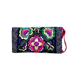 Kemilove Women Ethnic Handmade Embroidered Clutch Bag Vintag