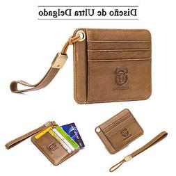 Women Men Wallet Case RFID ID/Credit Card Holder Minimalist