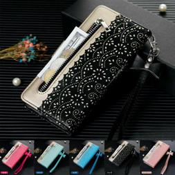Women PU Leather Flip Wallet Case Cover For iPhone 11 Pro Ma