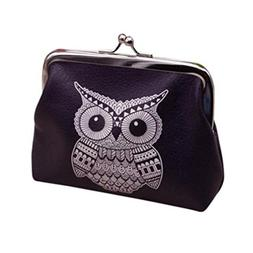 Kemilove Womens Coin Purse Wallet , Clutch, Handbag, Owl or