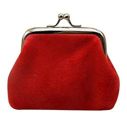 Kemilove Womens Corduroy Small Wallet, Coin Purse,Clutch